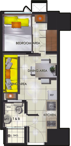 Condo Sale at Sun Residences Condominiums Unit Floor Plans