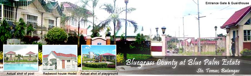 sto tomas batangas real estate home lot for sale at bluegrass