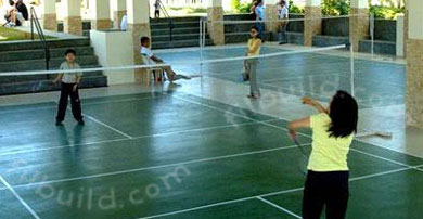 Bi an laguna real estate home lot for sale at verdana for Badminton court ceiling height