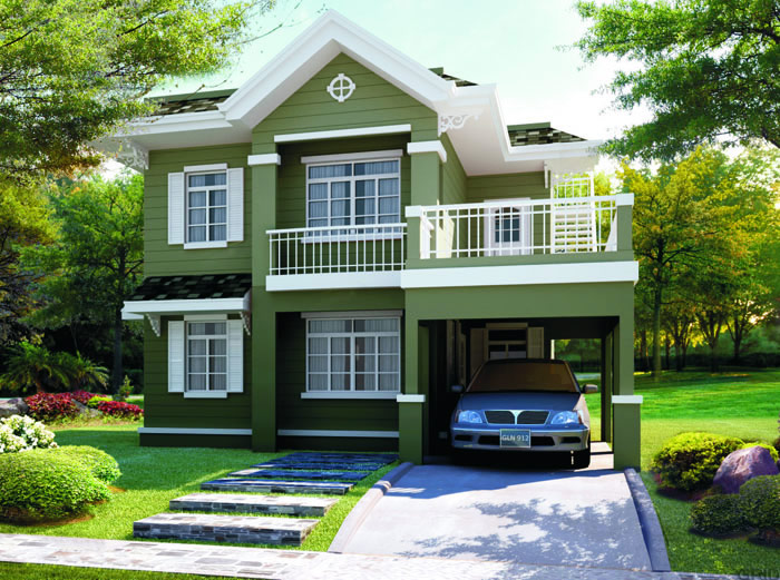 Bacoor cavite real estate home lot for sale at princeton for Terrace roof design philippines