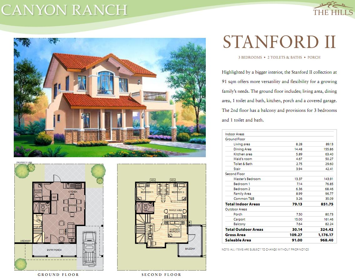 Real estate home lot sale at canyon ranch homes stanford 2