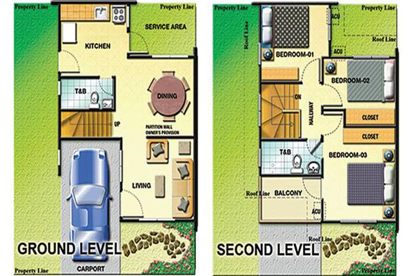 Imus cavite real estate home lot for sale at las verandas villas 2 by pro friends inc for Filipino house design with floor plan