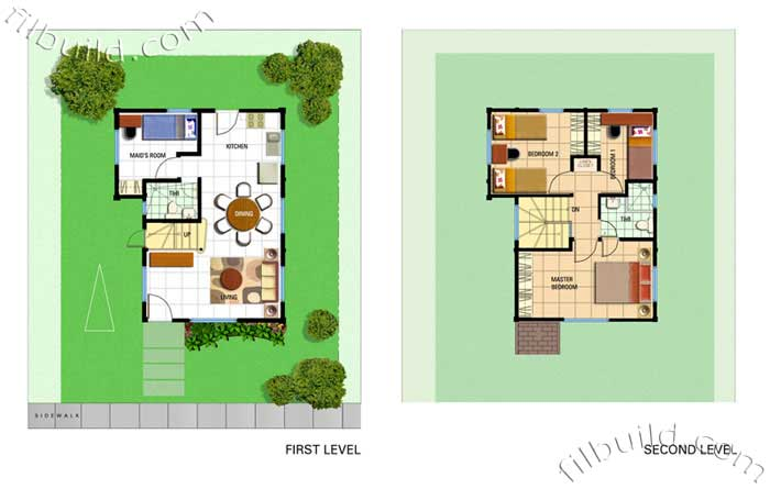 Floor Area: 90 sq.m. Minimum Lot Area: 155 sq.m.