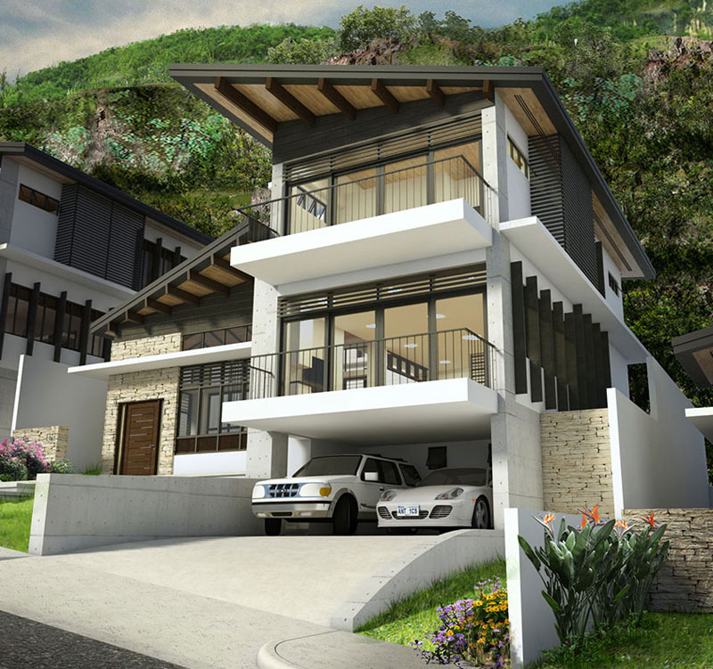 Affordable brand new house for sale philippines real for House garden design philippines