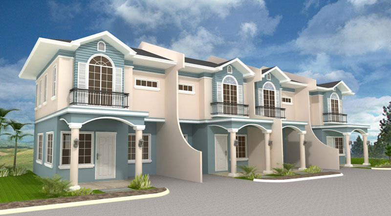 Cebu City Real Estate Townhomes For Sale At Brookridge By
