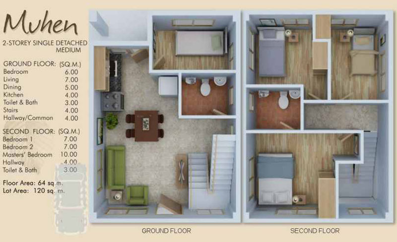 Philippine House Design With Floor Plan