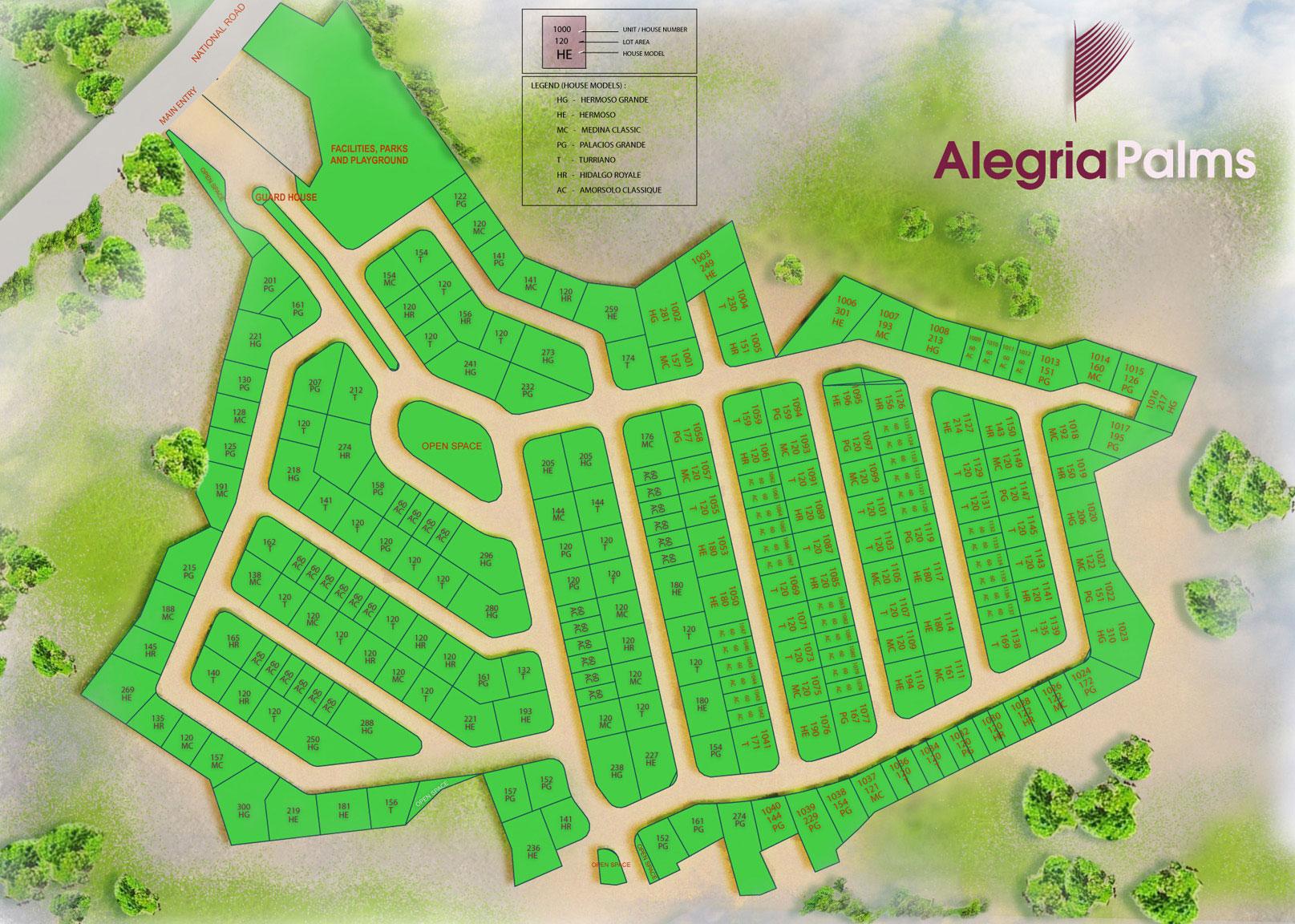 Cordova, Mactan, Cebu Real Estate Home Lot For Sale at Alegria Palms ...
