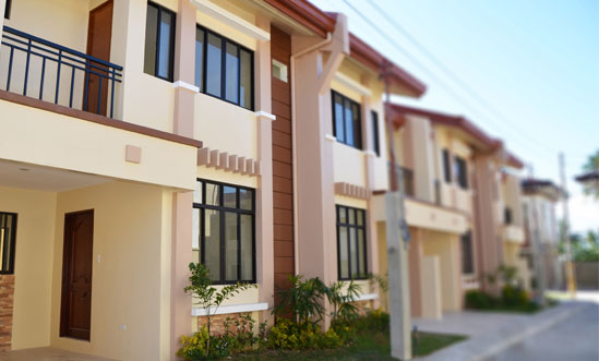 Cebu real estate homes at modena consolacion by king for Townhouse design in the philippines