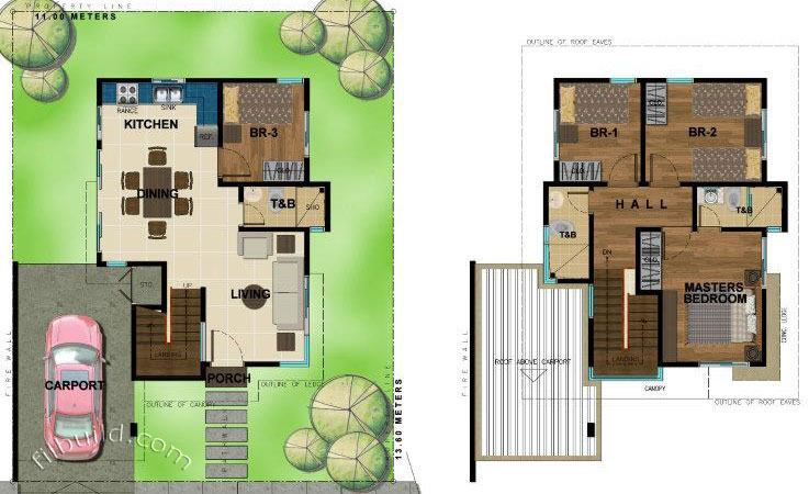 Mintal davao city real estate home lot for sale at bambu for 150 square meters house floor plan