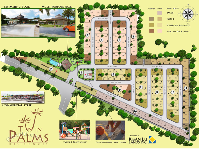 Davao City Real Estate Home Lot For Sale At Twin Palms