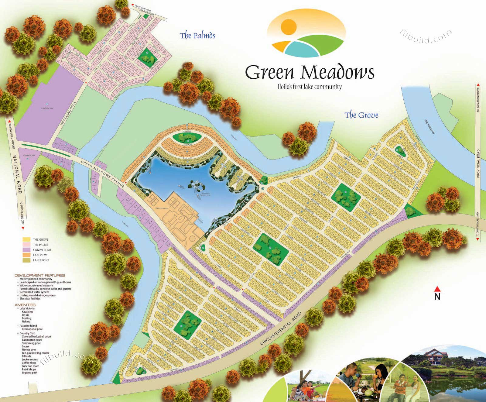 Iloilo City Real Estate Green Meadows By Sta Lucia Realty
