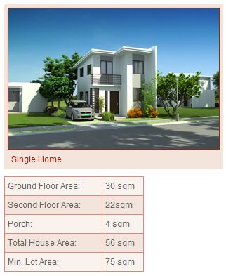 Amaia single detached house model