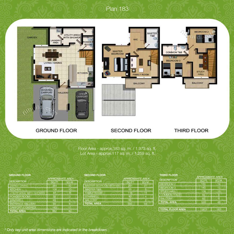 Pasig city metro manila real estate townhomes for sale at What is wic in a floor plan