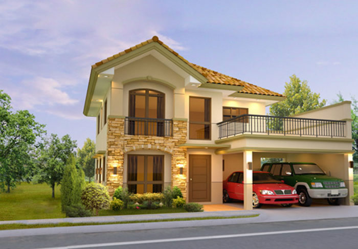 Angono rizal real estate home lot for sale at mission for Two storey house design philippines