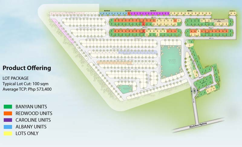 Tarlac City Flood Free Real Estate Home Lot For Sale At