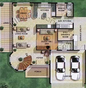 House layouts floor plans philippines