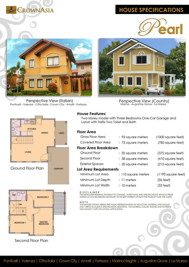 St Augustine Grove Dasma Cavite House And Lot For Sale
