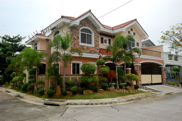 Real estate brand new house and lot in guiguinto bulacan sold for Filipino house design with floor plan