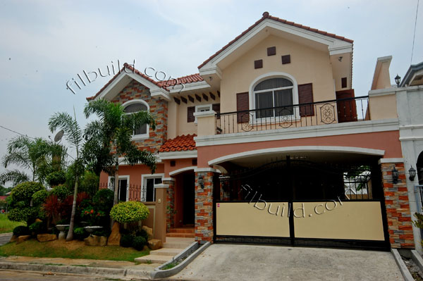 Real estate brand new house and lot in guiguinto bulacan for House color design exterior philippines