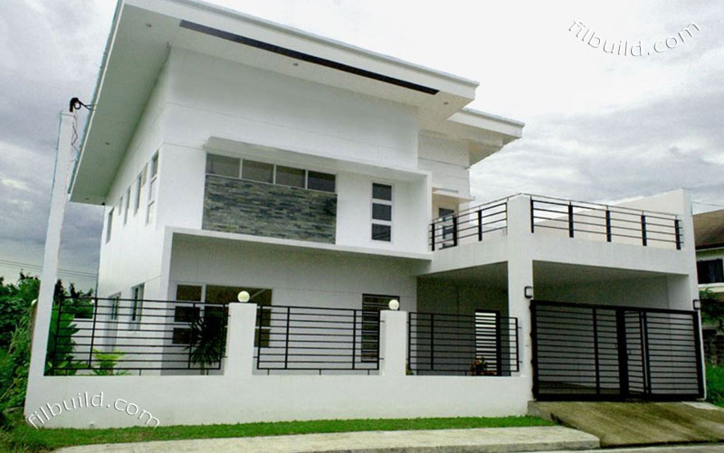 Real Estate Iloilo City 2 Storey House For Sale In Gated