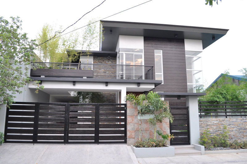brand new modern glass house for sale in paranaque city