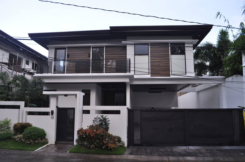 Brand New Two Storey Modern Zen House For Sale In Bf Homes