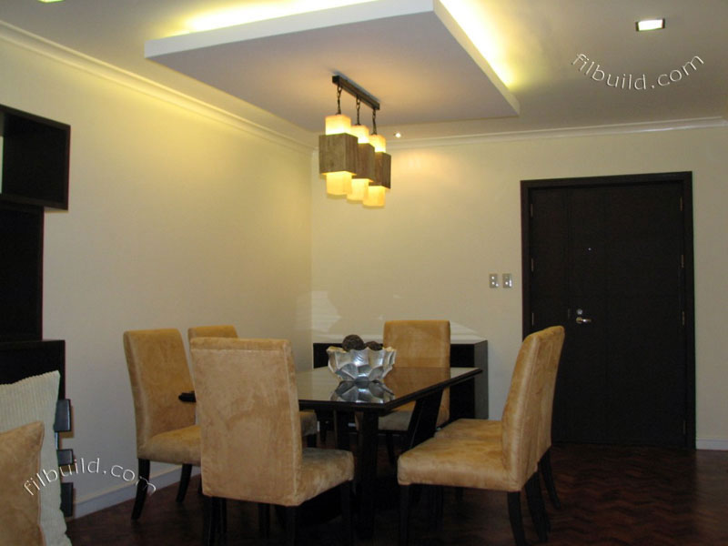 Real estate fully furnished 2 bedroom condo for sale at for Condo ceiling design