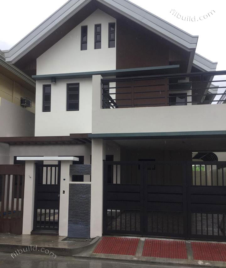 Real estate pasig city brand new two 2 storey house for sale for 2 storey house for sale
