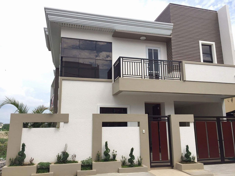 Simple modern house design Philippines