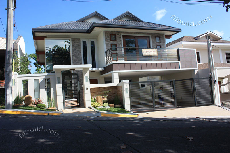 Real estate house for sale at filinvest homes 2 in quezon city for Modern house quezon city