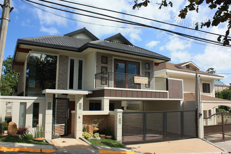 Exterior Small Home Design Ideas: Real Estate House For Sale At Filinvest Homes 2 In Quezon City